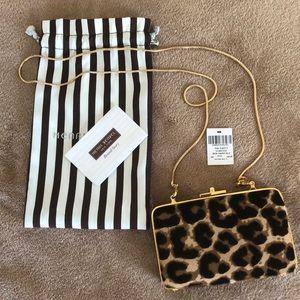 NWT Henri Bendel Cheetah Party Bag